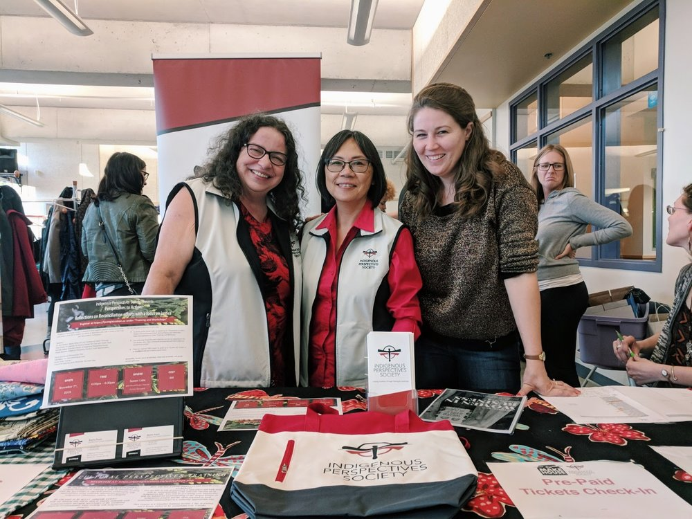 Jenny, founder of The Makehouse, with the Indigenous Perspectives Society.