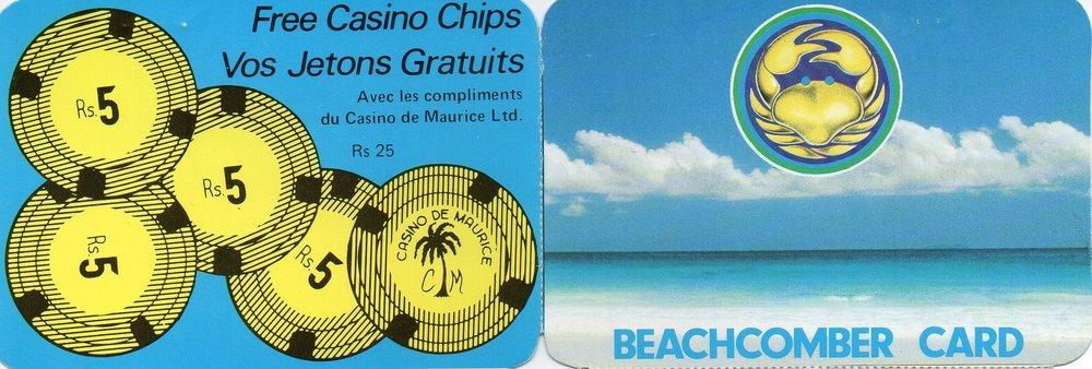 Our Beachcomber pass -