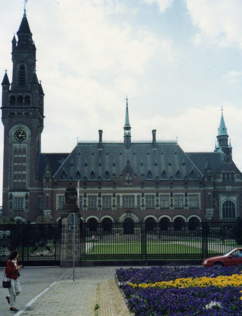 The Hague International court -