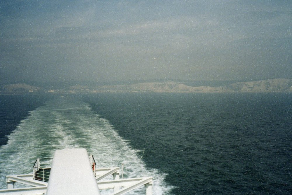 White cliffs of Dover -