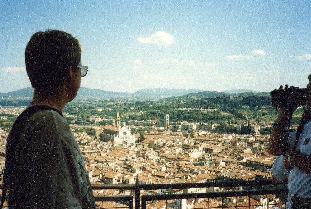 Overlooking Florence -