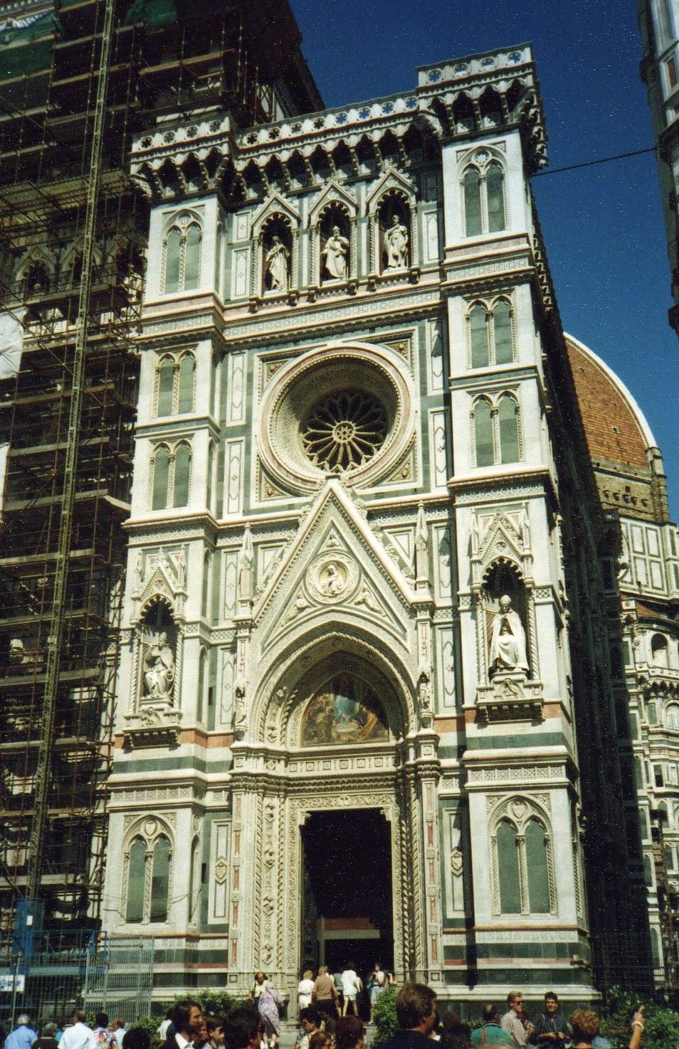 Marble at Cathedral of Florence -