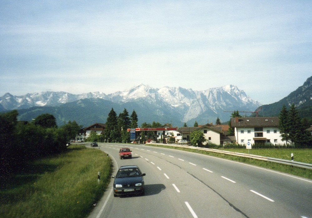 On our way to Innsbruck -