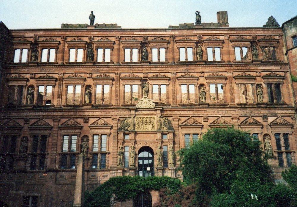 Ruins of Heidelberg Castle -