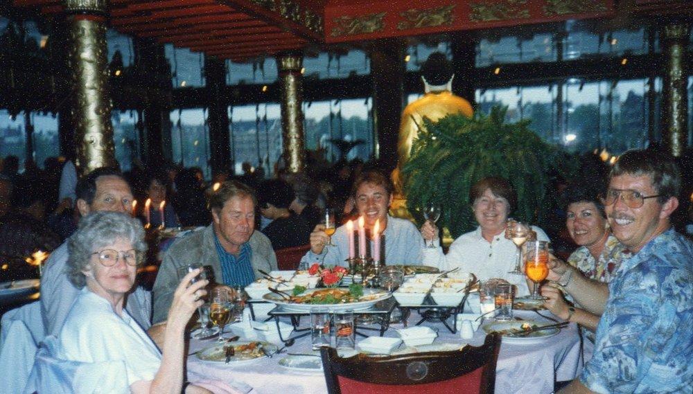 Dinner at Sea Palace Reistafel -