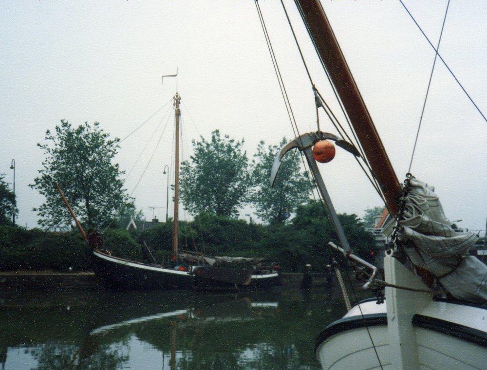 Traditional Dutch boat -