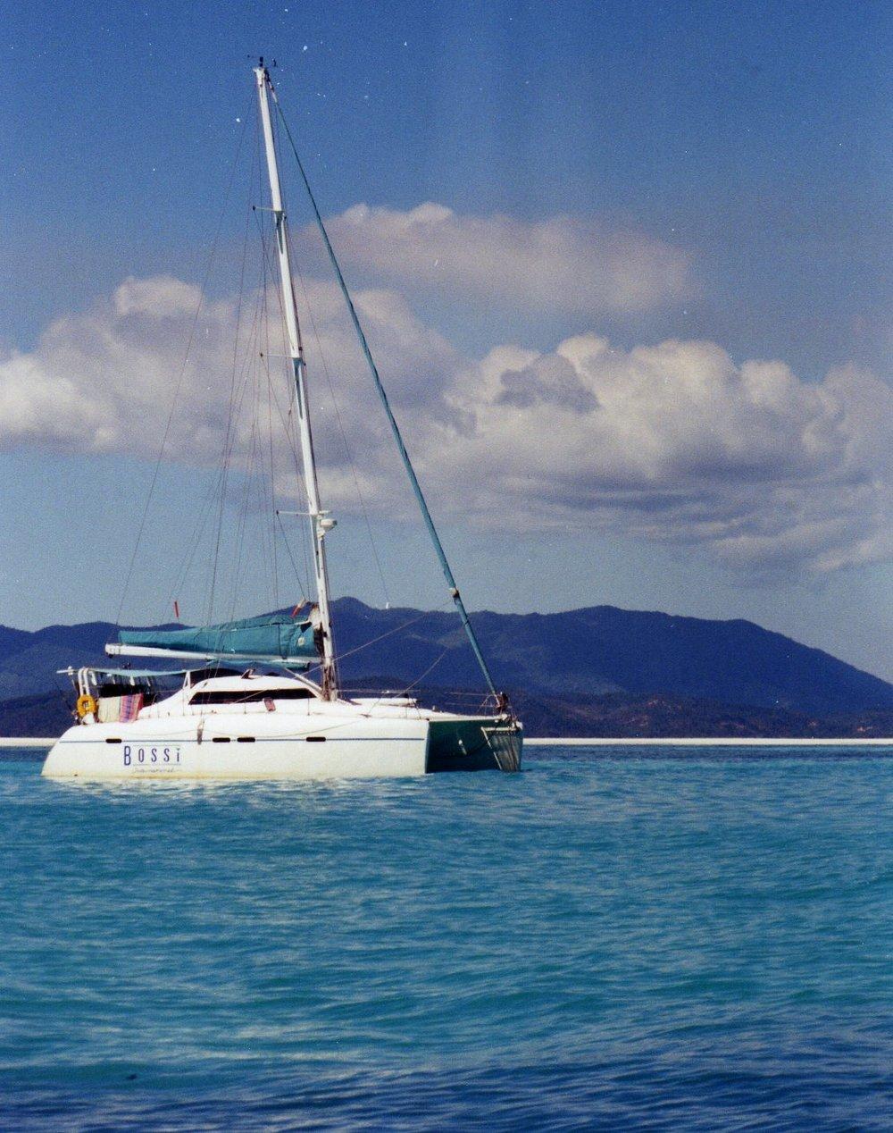 Yacht Bossi Madagascar -