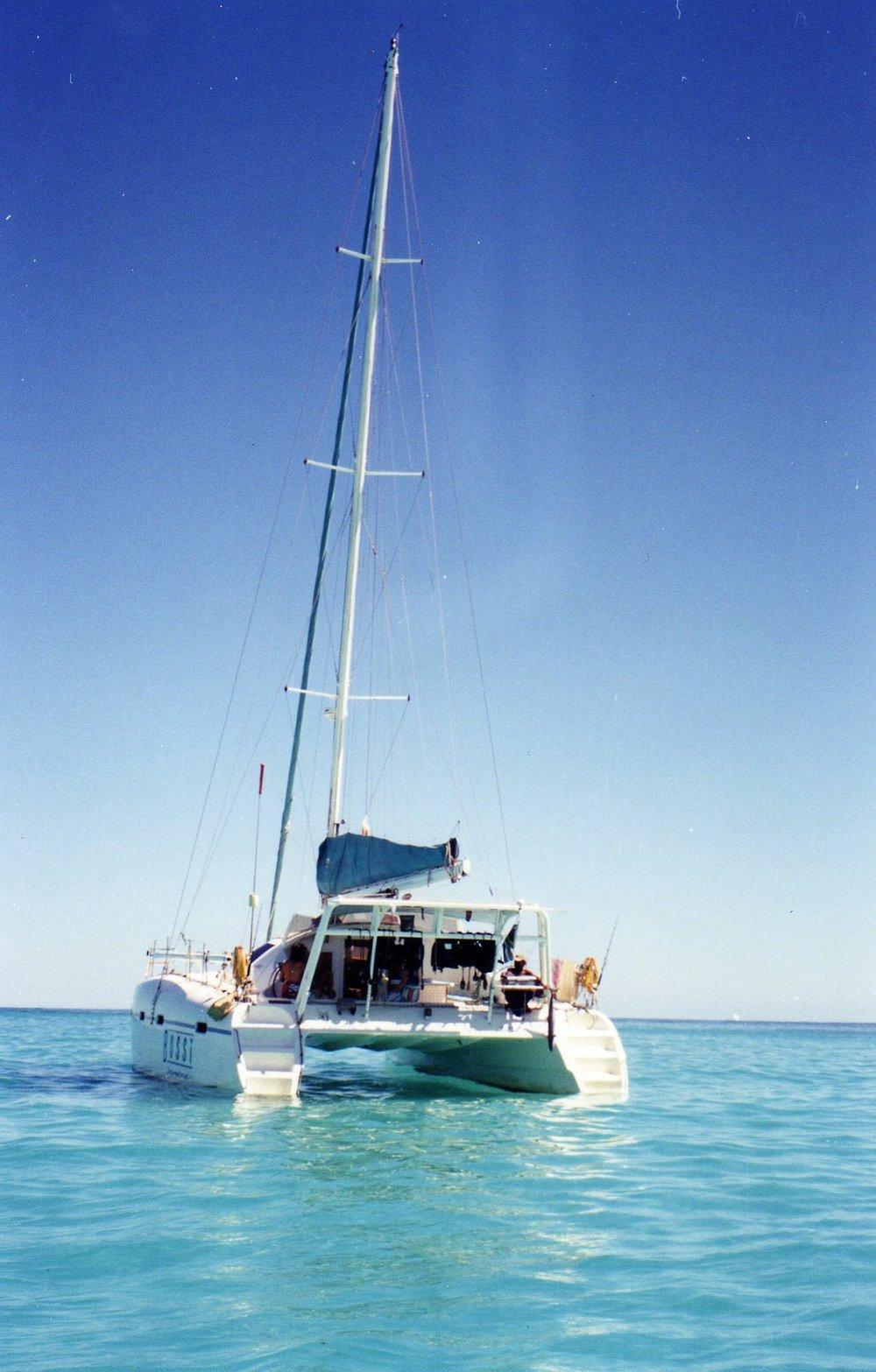 Yacht Bossi Nosy Be, Madagascar -