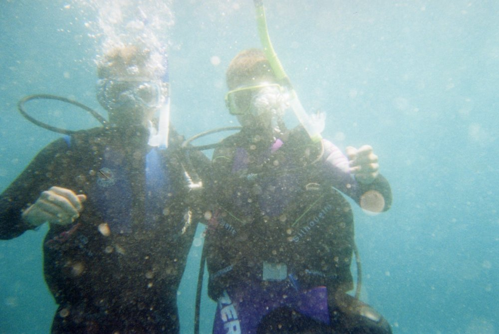 Diving buddies
