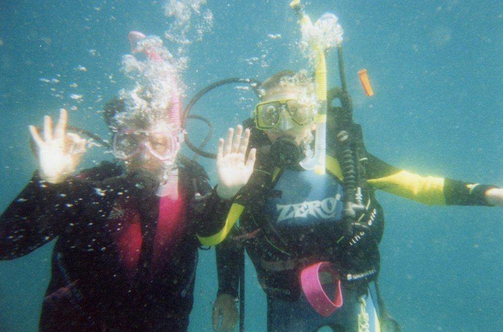 Practising hand signals