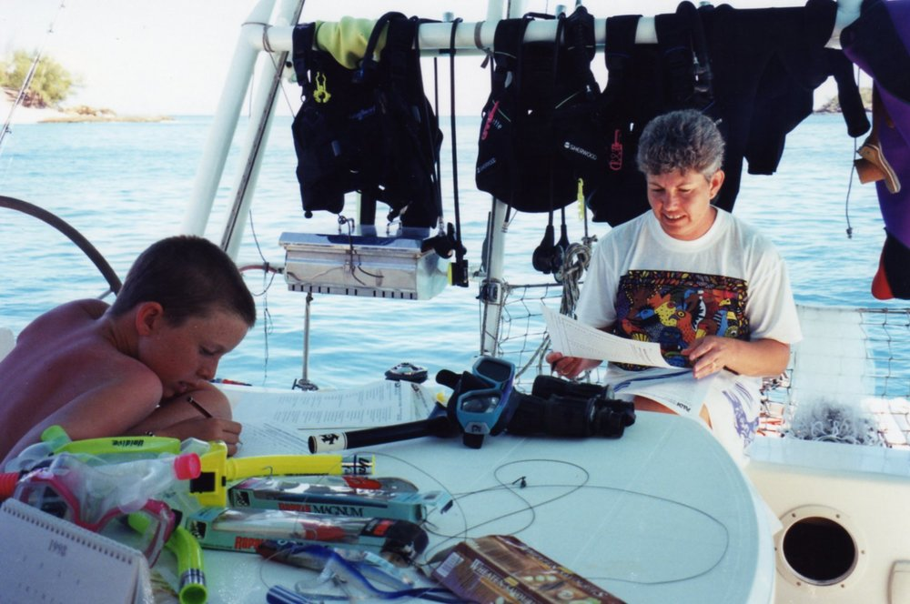 Great classroom for Openwater PADI Certification exam