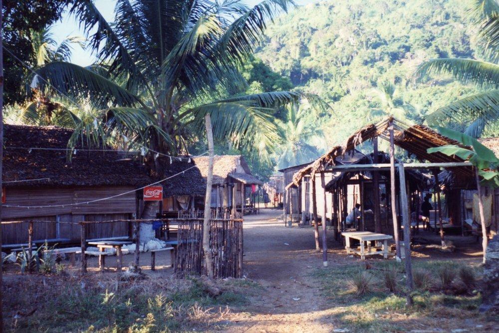 Village of Ampangorina - Coca cola always availalbe no matter where