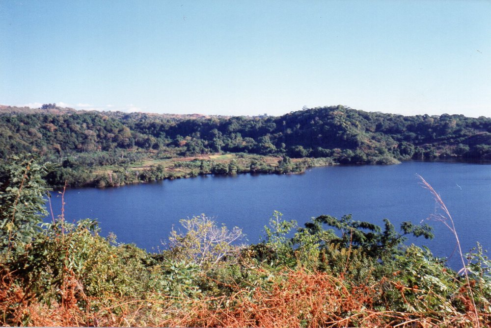 One of eleven volcanic lakes Nosy Be