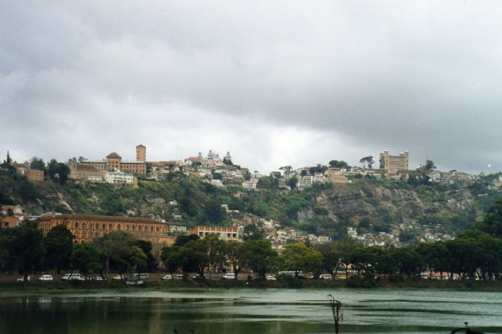 View over the lake Antananarivo