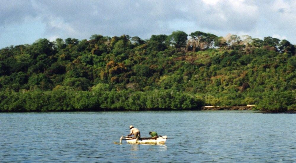 Fishermen in the Comoros