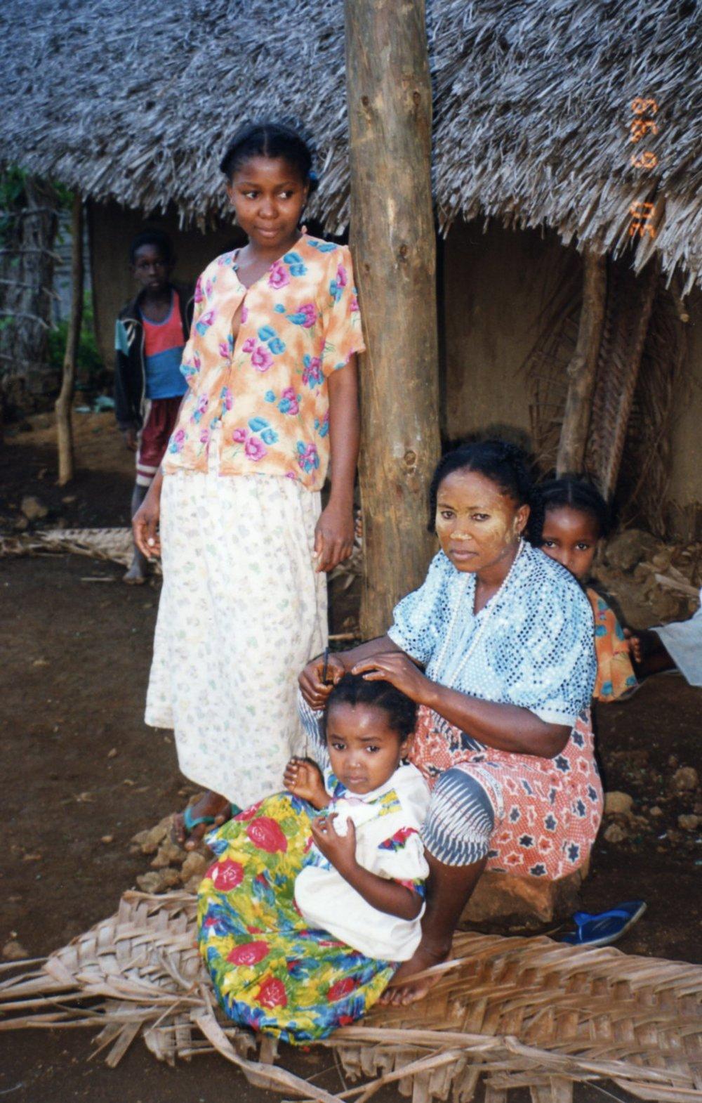 Posing for their photo Moheli, Comoros