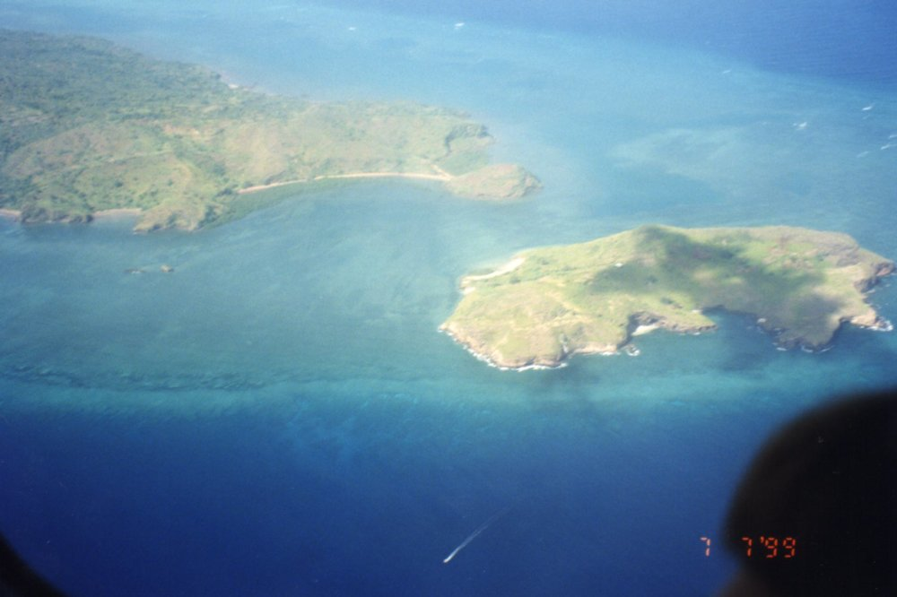 Anjouan from the air