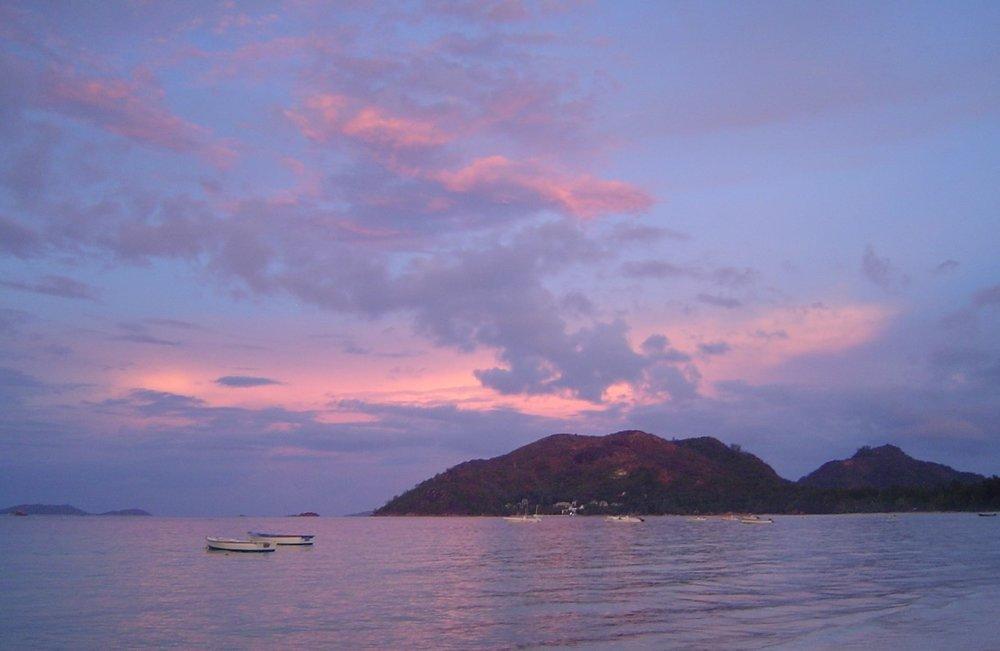Sunset Praslin