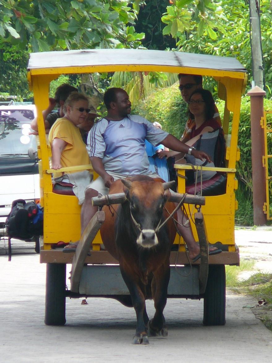 Transport La Digue