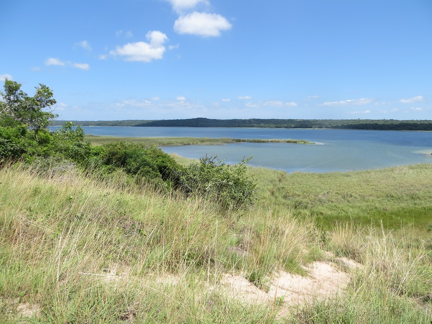 Lake in Maputo Special Reserve