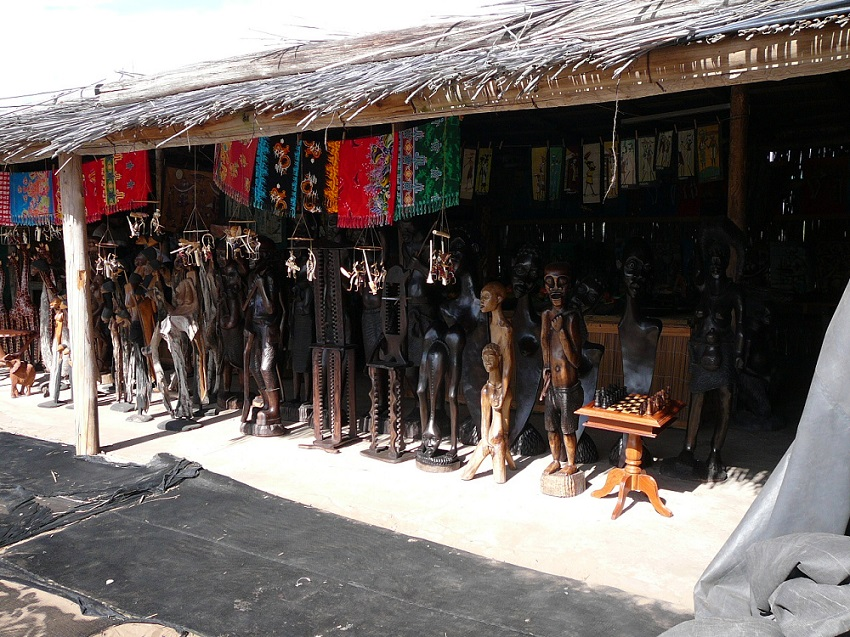 Curios galore in Mozambique