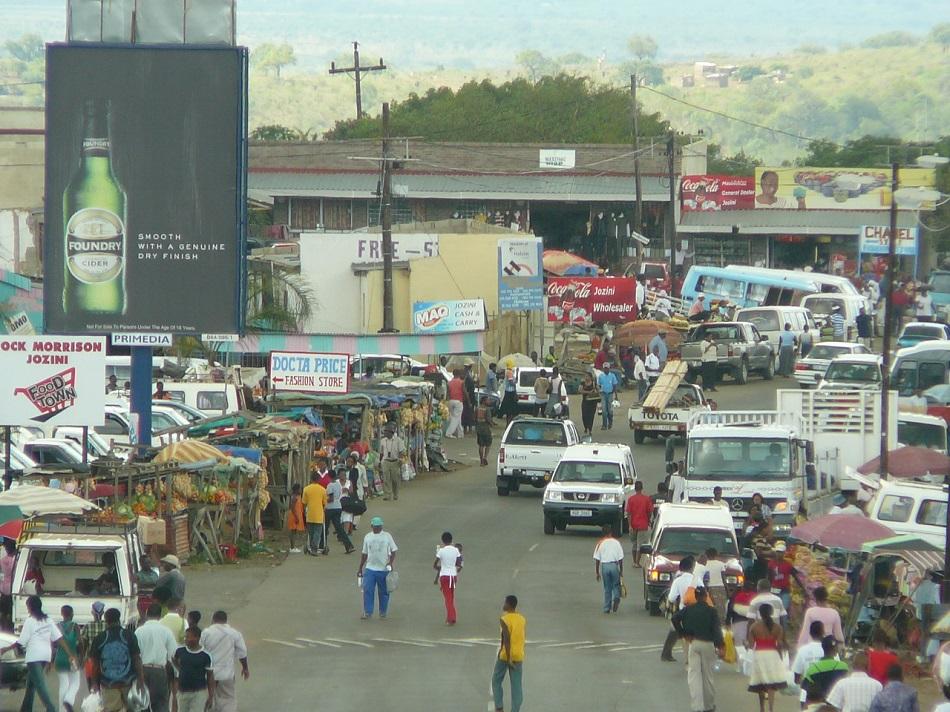 Street scene Jozini