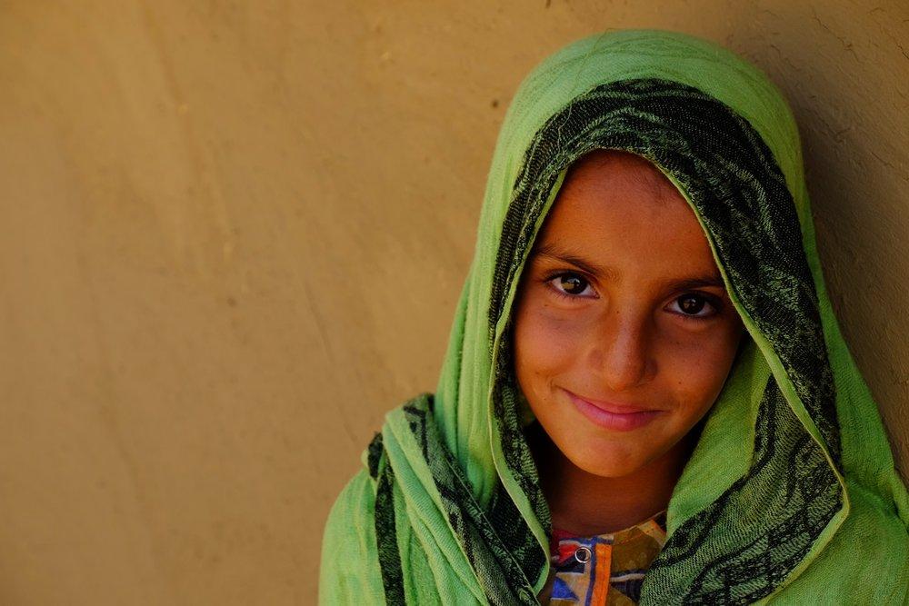Muslim girl Northern India - Gillian Mclaren