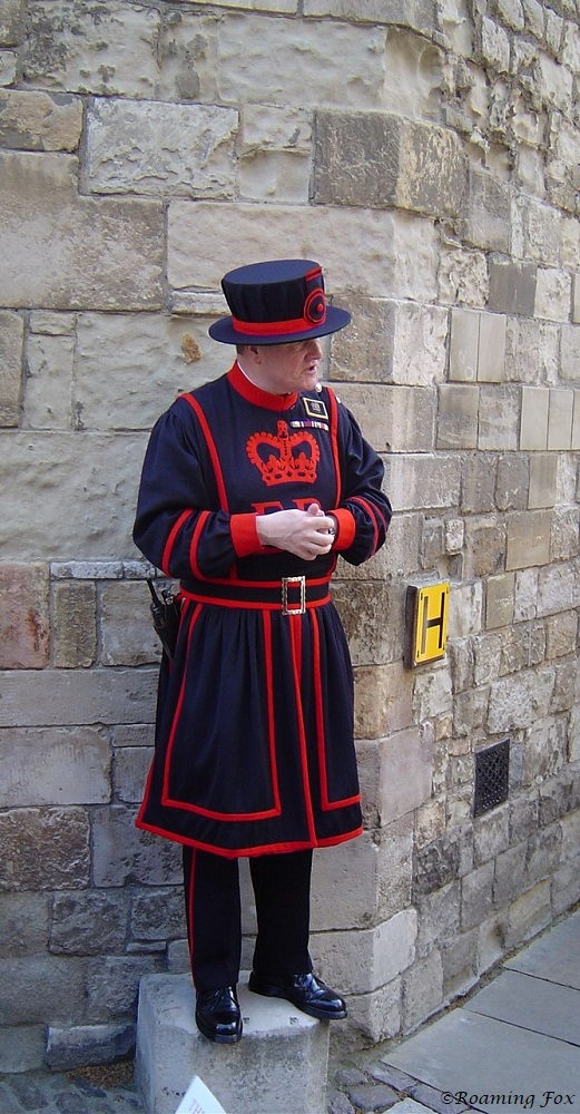 Tower of London - Beefeater guide