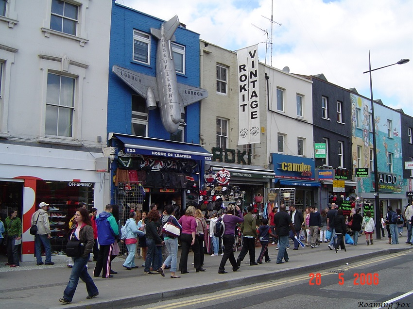 Walking the streets of Camden Town