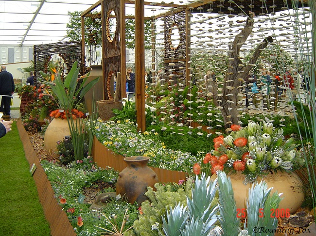 South African Botanical Garden display Chelsea flower show 2.JPG