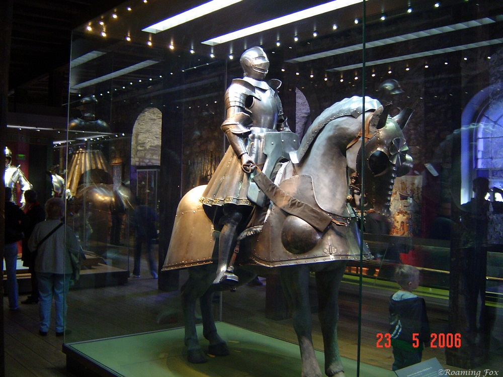 Suit of armour for King Henry VIII and his horse at the Tower of London