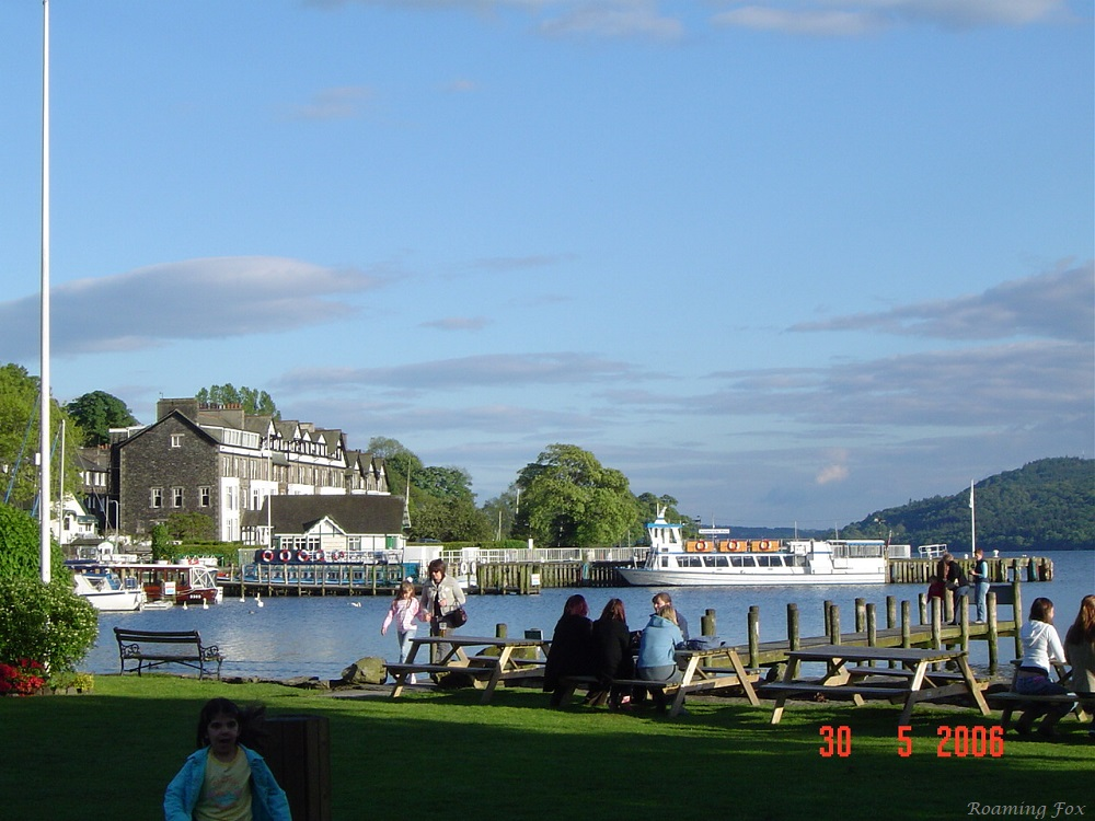 Beatiful lake scene - Lake Windermere