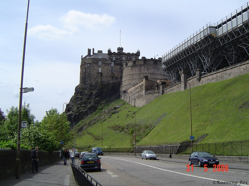 Edinburgh Castle - set in stone