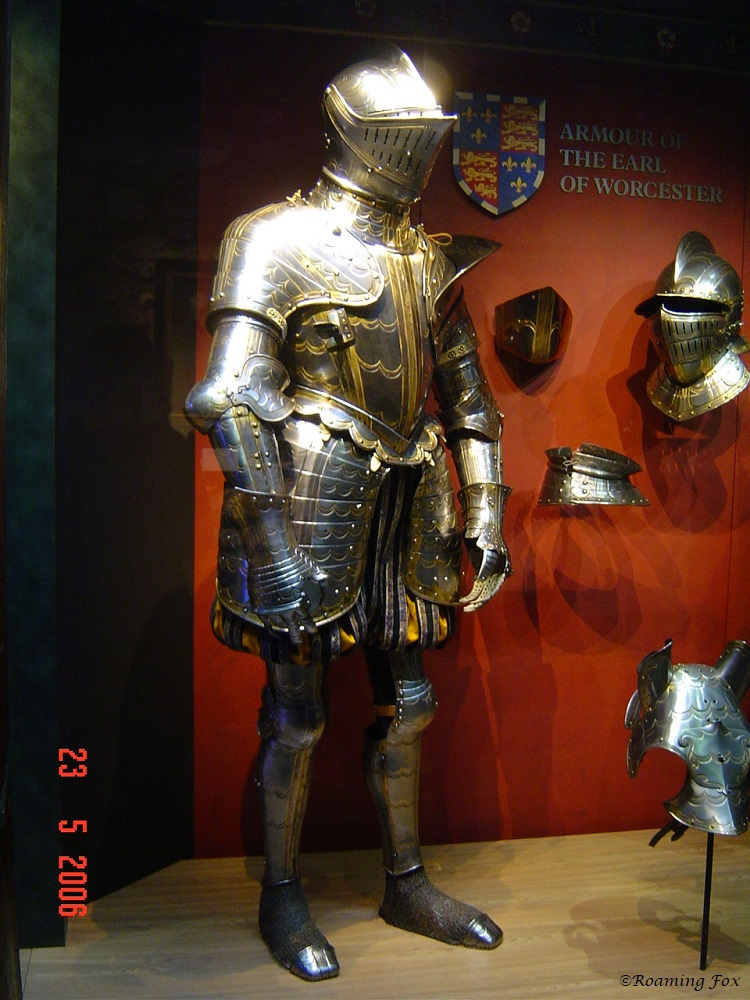 Suit of armour for The Earl of Worcester