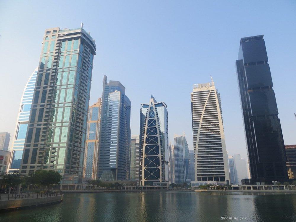 Skyscrapers Dubai Jumeirah Lakes Towers