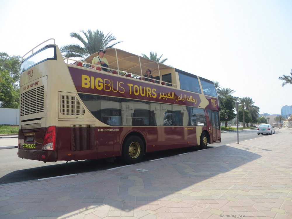 Hopping on and off the Bigbus Tours