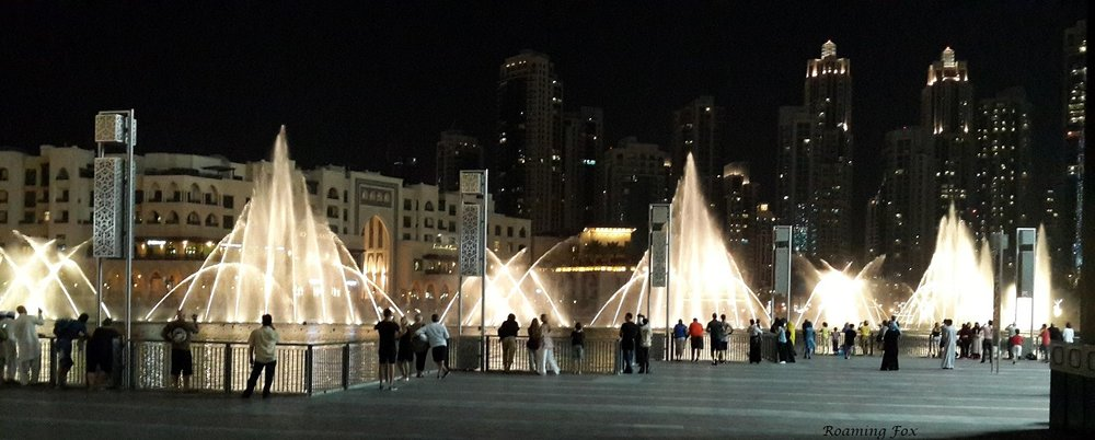 Spectacular fountains