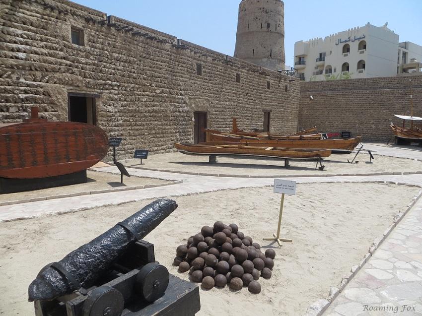 Courtyard in Dubai Museum