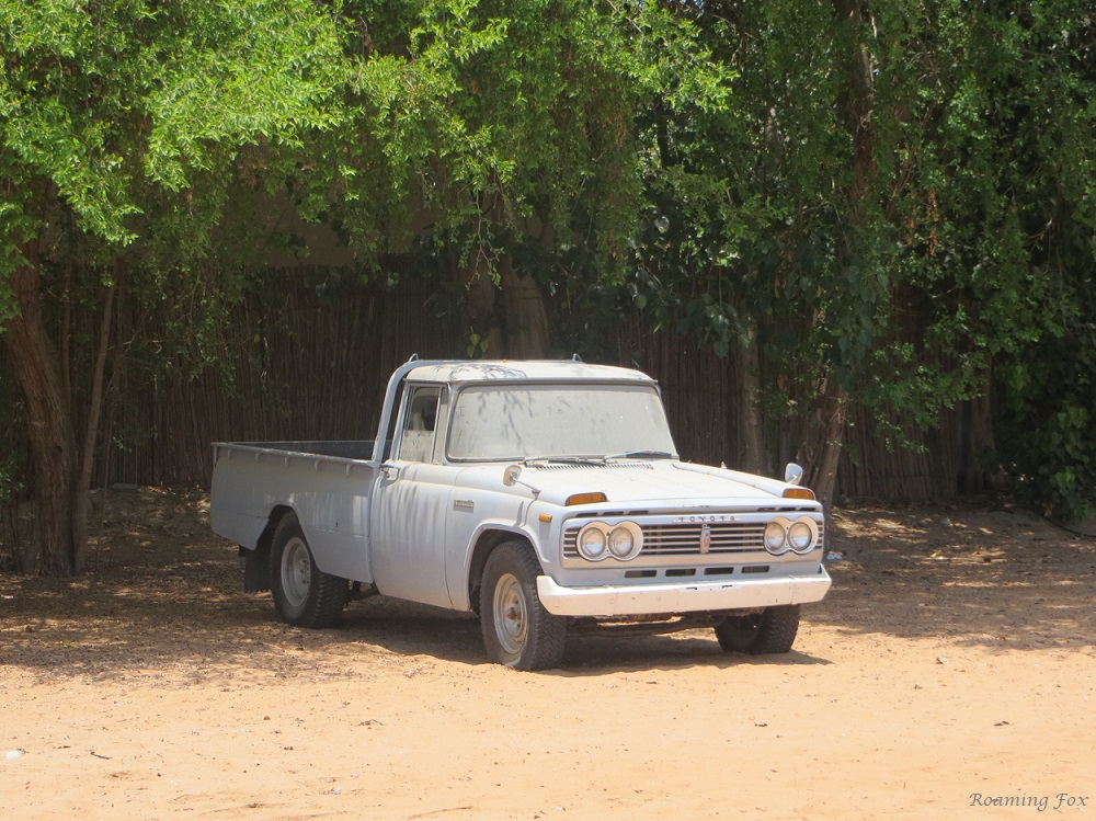 Old Toyota at Heritage Shindagha Village