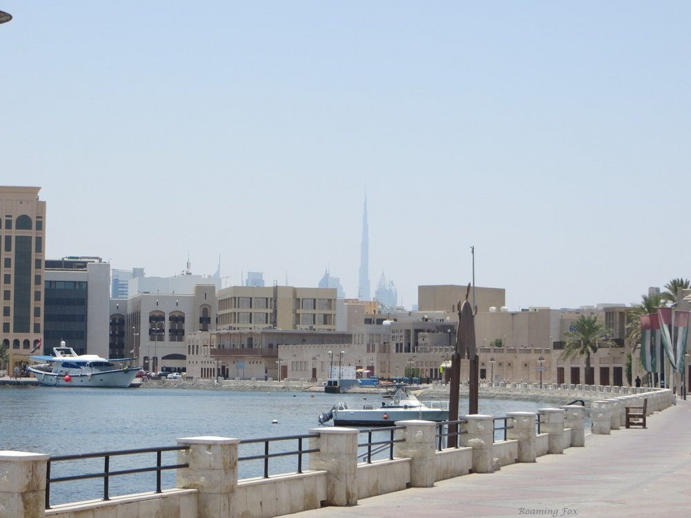 More traditional style buildings at Dubai Creek