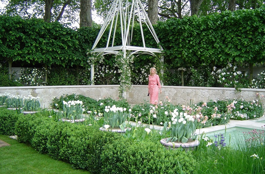 Delirious romps and overindulgence of inspirational gardens