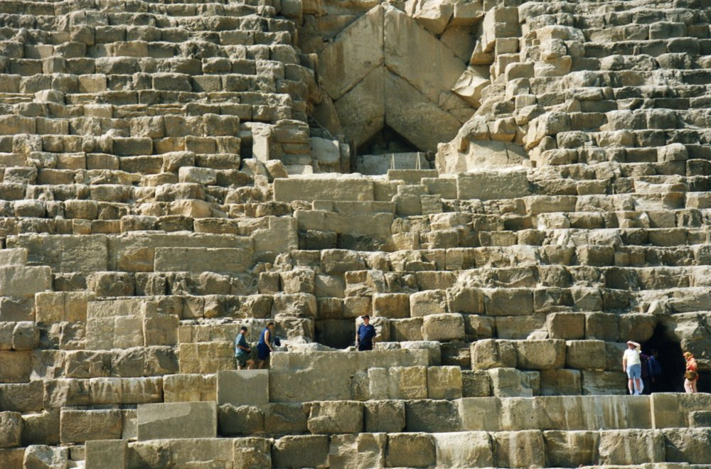 Can't get over the size of the blocks they used to build the pyramids