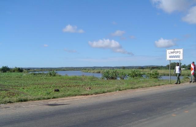 Limpopo River near XaiXai