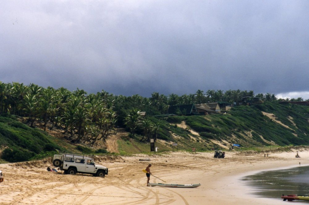 Guinjata at Praia de Jangamo