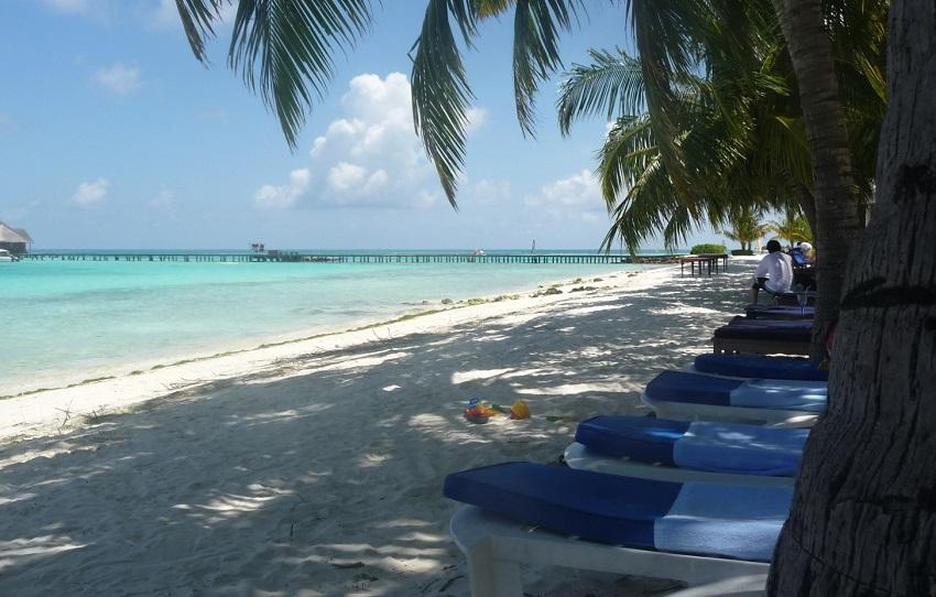Jetty and beach Club Med Kani Maldives.JPG
