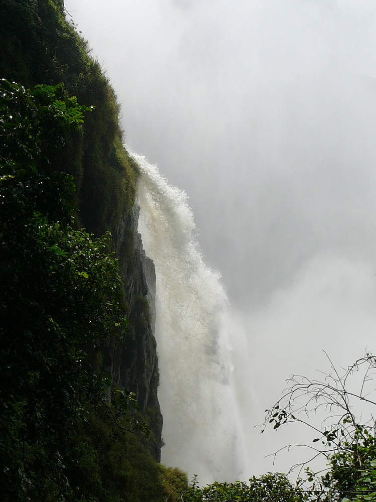 Section of Victoria Falls and mist.JPG