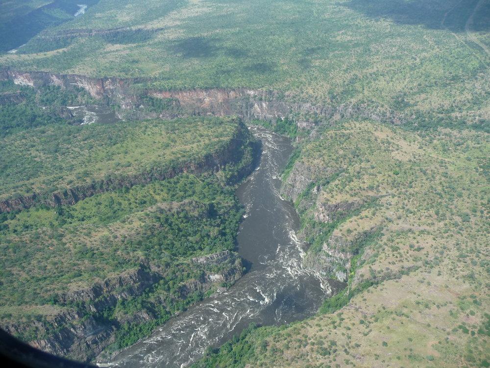 Gorges near Victoria Falls.JPG