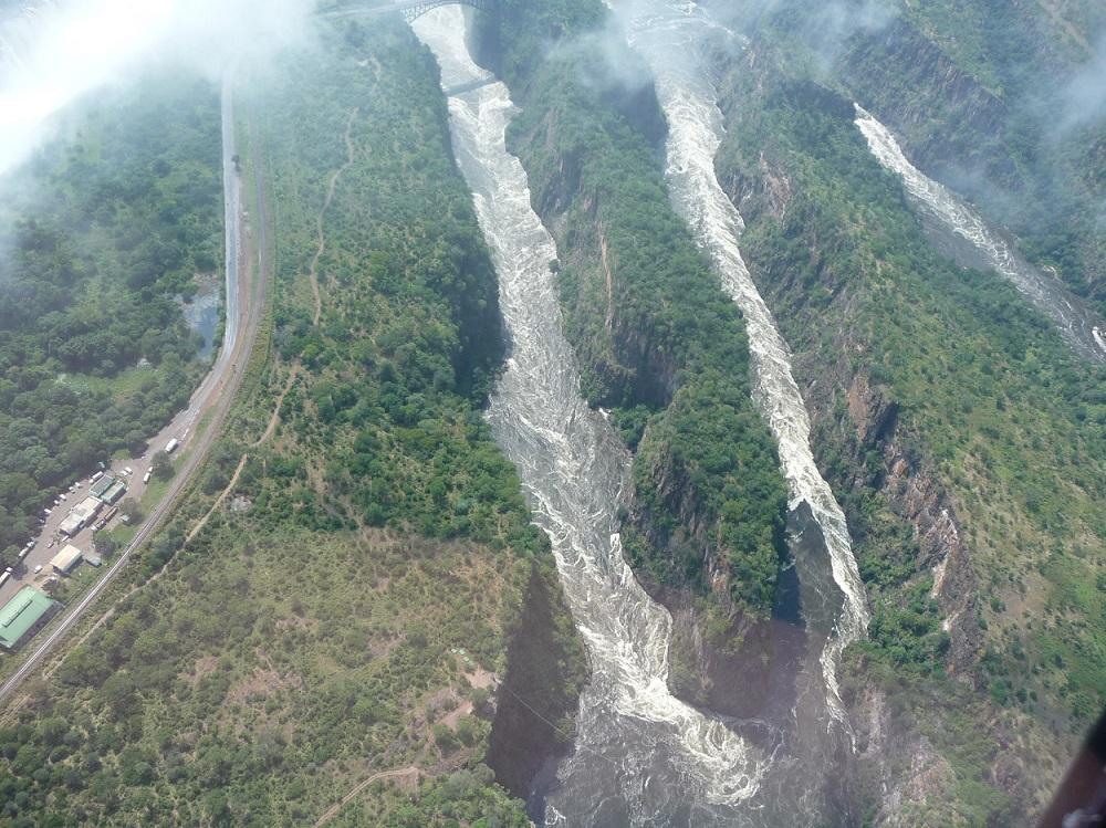 Gorges close to Victoria Falls.JPG