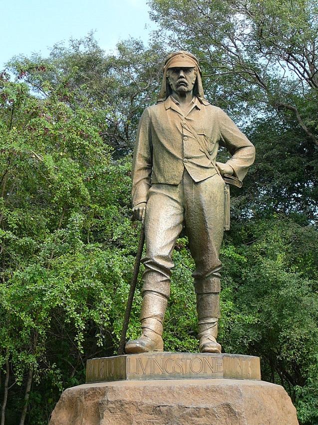 Dr Livingstone, I presume...standing tall