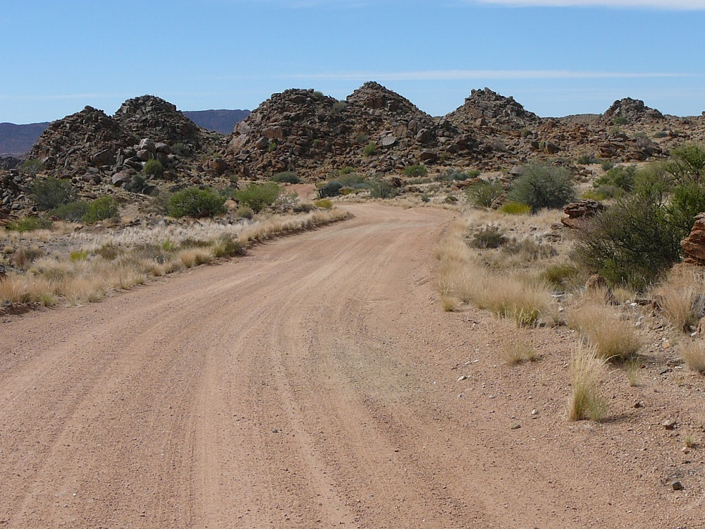 Swart Rante (black ridge)
